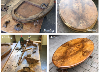 restoration of table before and after