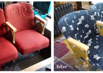 before and after chair restoration
